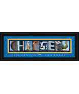 Los Angeles Chargers Officially Licensed Framed Letter Art - $39.95
