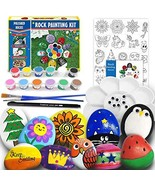 Rock Painting Kit for Kids - Arts and Crafts for Girls & Boys Ages 6-12,... - $48.99