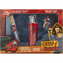 Camp Rock Edt Spray 1.7 Oz and Lip Gloss and Edt Mini 0.1 Oz For Women - $20.78