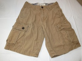boys American Eagle Outfitters classic length cargo shorts 26 pre-owned ... - $16.33