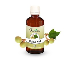 Fragrantica Kukui Nut Oil 100% Undiluted Natural Pure Uncut Carrier Oil 100 Ml - $18.75