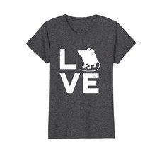 Love Mice Retro Typography Pet Mouse or Rat Gift T-Shirt - W - $19.99+