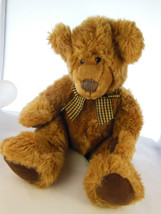"13"" Geoffrey Russ Berrie Plush Teddy Bear Vintage SO CUTE! - $11.87"