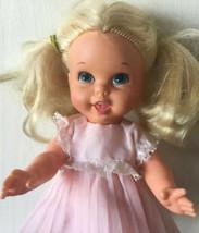 """Vintage 1960s 1967 Goldilocks Small Talk Talking 10.25"""" Doll by Mattel! F - $19.79"""