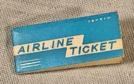 VINTAGE IDEAL TAMMY AIRLINE TICKET EUC - $24.74