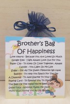 Brother's Bag of Happiness - Unique Fun Novelty Gift & Card All In One - $6.74