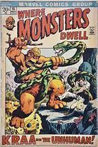 1972 - Marvel Comics - Where Monsters Dwell #15 - Vintage Comic Book - $12.99