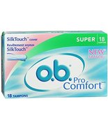 o.b. Pro Comfort Silk Touch Super Size 18 ct - $14.69