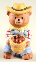 Bronson Bears of Distinction Figurine Farmer Fred by Katharine Stevenson... - $6.95