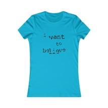 I Want to Believe [1] Women's T-shirt - $18.56+