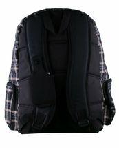 MOJO Flannel and Fleece Plaid Book Bag School Backpack image 3