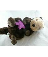 """Wild Republic Sea Otter Plush with Purple Starfish Realistic 15"""" Silky soft - $14.84"""