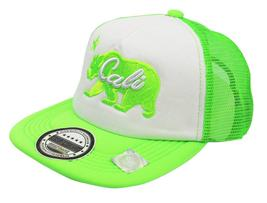 NEW UNISEX BASEBALL HAT CAP ADJUSTABLE SNAPBACK SWAG CALI BEAR GREEN ONE SIZE image 3