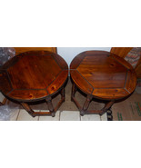 Pair of Pine Thomasville Old Tavern End Tables / Side Tables - $499.00