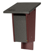 Sparrow Resistant BLUEBIRD HOUSE - 100% Recycled Poly Birdhouse Handmade... - $68.57+