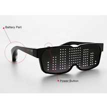 CHEMION 2 Smart Bluetooth LED Sunglasses Club Party Sports Glasses (1pair) image 1