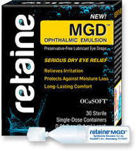 Retaine MGD ophthalmic emulsion 30 count  FREE shipping - $19.02