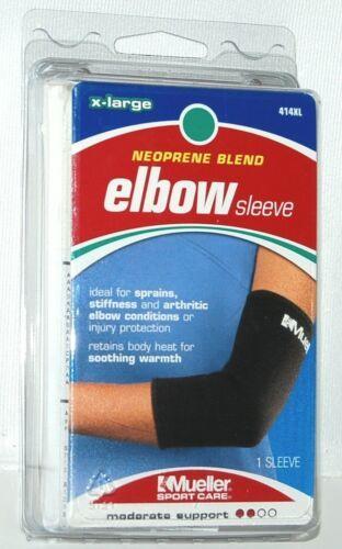 Mueller 414XL Neoprene Blend Elbow Sleeve Size Extra Large Color Black