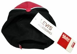 NEW LEVI'S RED TAB MEN'S PREMIUM CLASSIC COTTON BASEBALL HAT CAP RED ONE SIZE image 3