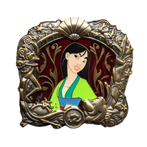 Mulan Disney Lapel Pin: Stained Glass Window - $95.00