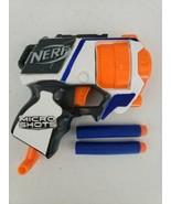 NERF N-STRIKE ELITE MICRO SHOTS STRONGARM BLASTER AND 2 DARTS SERIES 1 EUC - $5.55