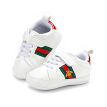 Newborn Baby Soft Bottom Toddler Shoes Walking Shoes G199 White 0-18 Months - $16.99