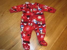 The Children's Place Baby Girls Footie PJ sleepwear 0-3 months pajamas N... - $4.31