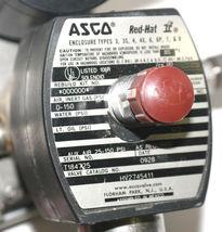 NEW ASCO HV2745411 SOLENOID CF8M VALVE WATTS: 1.4, PIPE 1/2 WITH TOPWORX SWITCH image 6