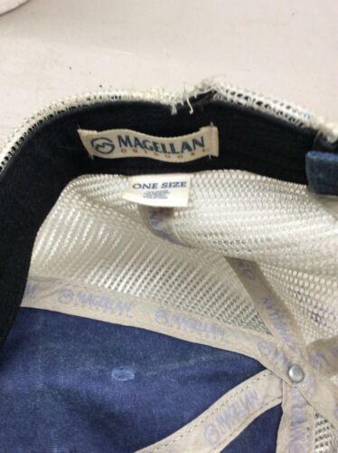trucker hat baseball cap Vintage Magellan Outdoor Grunge Headwear Camping