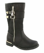 Lucky Top Girls Black Ginger Boots Size 1 NEW IN BOX!!! - $49.45