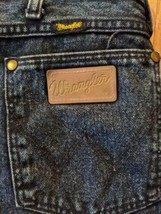 Wrangler 936NTF Faded Cotton Denim Jeans Tag Size 38 x 30 USA - $23.36