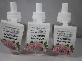 3 Bath & Body Works Wallflower Diffuser Refill Bulb  Southern Magnolia - $39.99