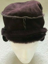 Paul Smith Women SEAM Sheepskin Trapper Hat - $223.57