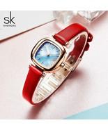 SK® Watches Casual Women's Watches Leather Quartz Ladies Watch Women Clo... - $23.38