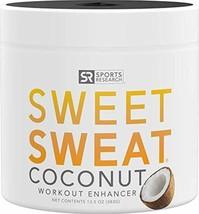 Health Beauty Sweet Sweat Coconut 'Workout Enhancer' Gel - 'XL' Jar (13.... - $59.93