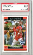 2006 Topps Steve McNair #306 PSA 9 P489 - $6.38