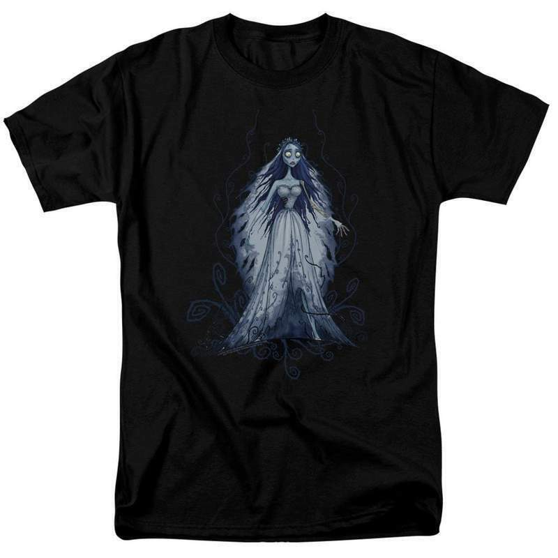 The Corpse Bride t-shirt Victoria Everglot animated film graphic tee WBM728