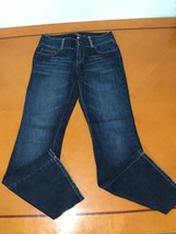 Woman's London Jean Stretch Dark Wash Bootcut Jeans Size 4 - $14.84
