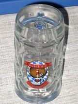 Rocktoberfest .5 Liter Thick Heavy Dimpled Glass Beer Mug Rock Bottom Br... - $16.82