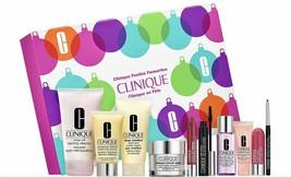 Clinique Festive Skincare & Makeup Gift Set,  10pcs (6 Full Size) $198 v... - $54.81