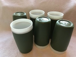 Six Royal Satin Therm-0-Ware Glasses-d/w Safe-unbreakable - $25.00