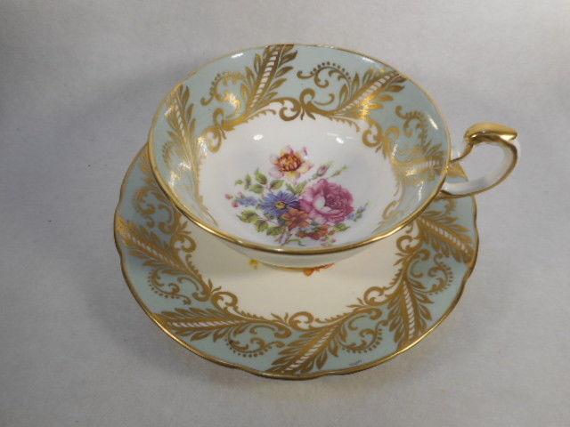 Vintage Paragon English Bone China Tea Cup and Saucer