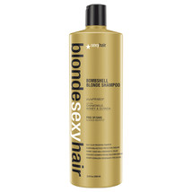 Sexy Hair Blonde Sexy Hair Bright Blonde Shampoo 33.8 oz / 1000 ml  - $30.88