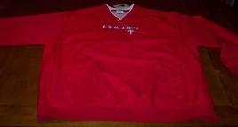 Philadelphia Phillies Mlb Stitched Jacket Xl New - $39.60