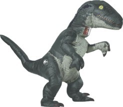 Rubini Jurassic World Velociraptor Gonfiabile Adulto Costume Halloween 8... - $94.49