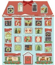Forest Friends Christmas House Advent Calendar by Galison Fast Free Ship... - $15.64