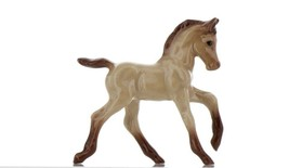 Hagen Renaker Miniature Horse Buckskin Colt Ceramic Figurine image 1