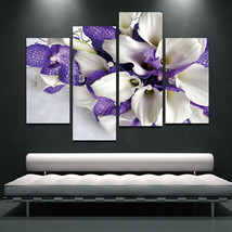 BANMU Wall Art Painting Print On Canvas Modern Flowers - $35.95