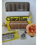 Clairol Basic Hot Roller Set Vintage 14 ct C14 Box Manual Clips Made in ... - $19.99