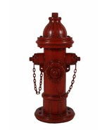3ft Red Fire Hydrant Pet Pee Post Yard Garden Statue Display Prop - $425.83